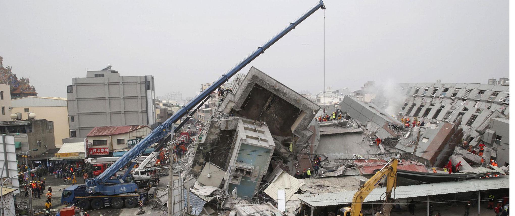 الصين: زلزال بقوة 6.4 يضرب تايوان