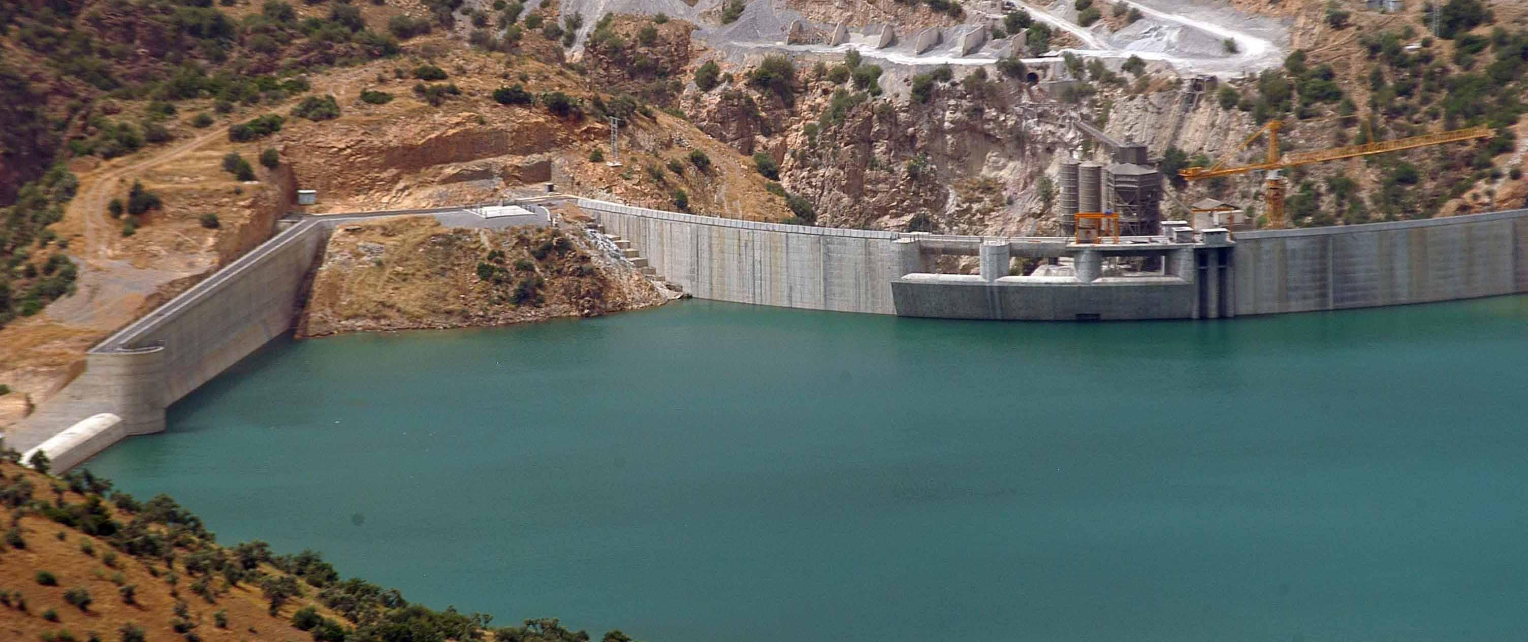 ارتفاع مخزون مياه السدود